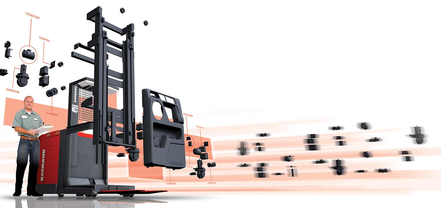 Forklift Parts and Lift Truck Accessories